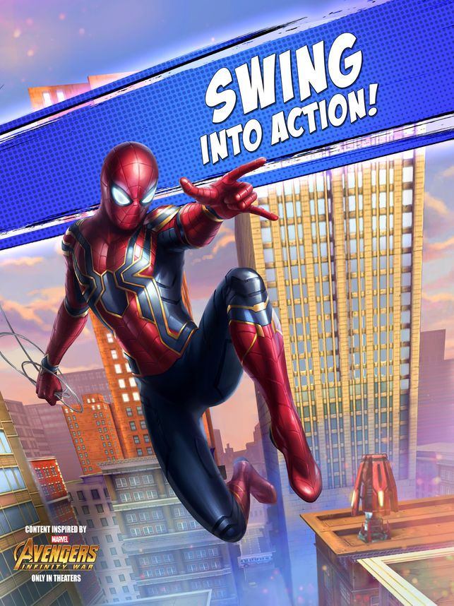 marvel spider man unlimited on the app store