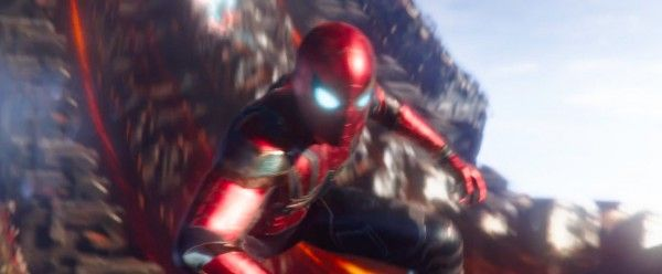 avengers infinity war image spider man