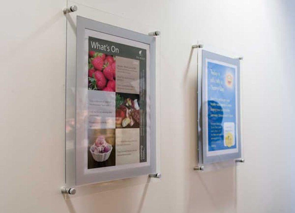 bingkai foto akrilik a3 bingkai poster akrilik a3 frame acrylic 2mm bingkai poster