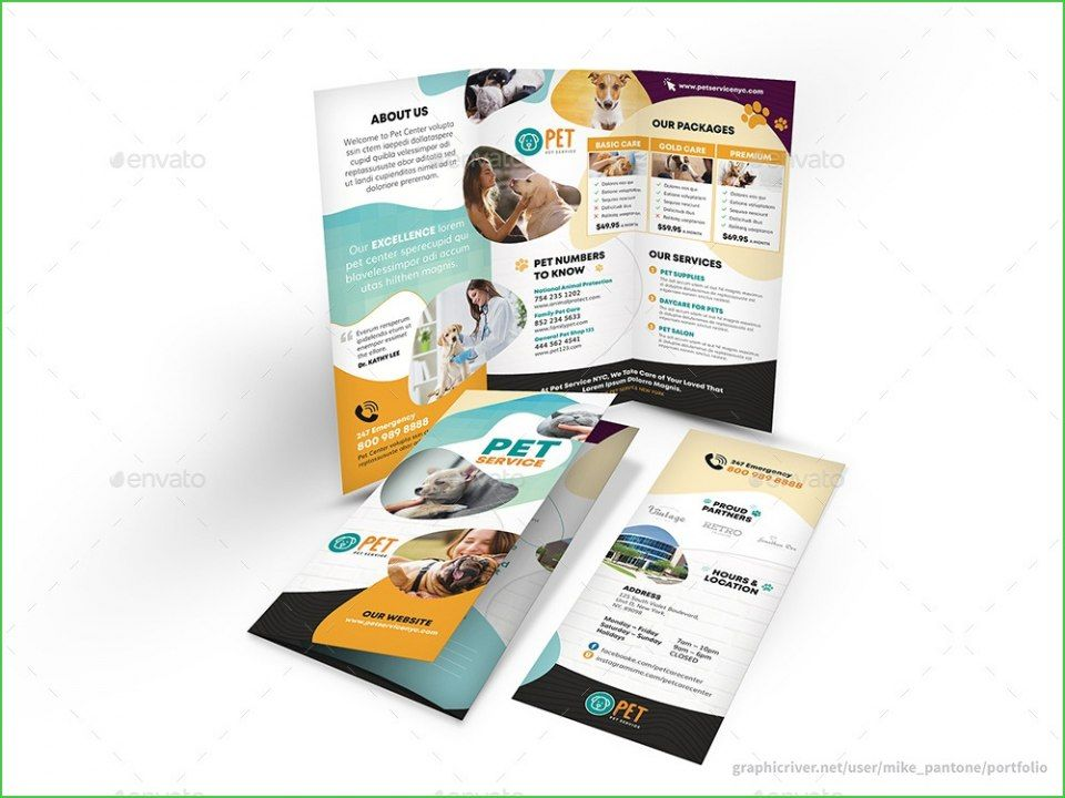 template new brochure
