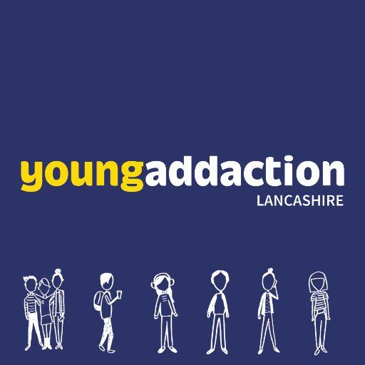 Charity Poster Berguna Young Addaction Lancashire Yaddlancs Twitter