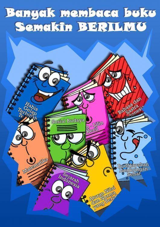 Poster Covid 19 Kartun Mudah Digambar - DOKUMEN PAUD TK SD SMP