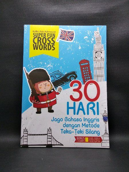 jual jago bahasa inggris dalam 30 hari di lapak sbybooks online sbybooks online