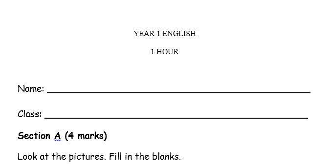 soalan pentaksiran pertengahan tahun bahasa inggeris tahun 2 terbaik bank soalan semua subjek tahun 3 2017