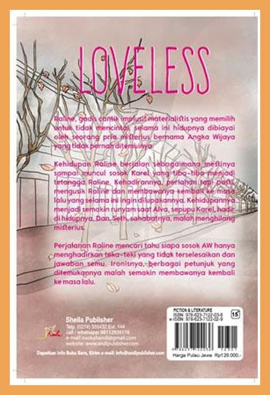loveless isbn 978 623 7122 03 6