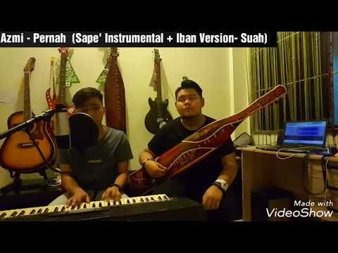 music notechords for pernah suah teresak borneo cover iban version with sape instrumental