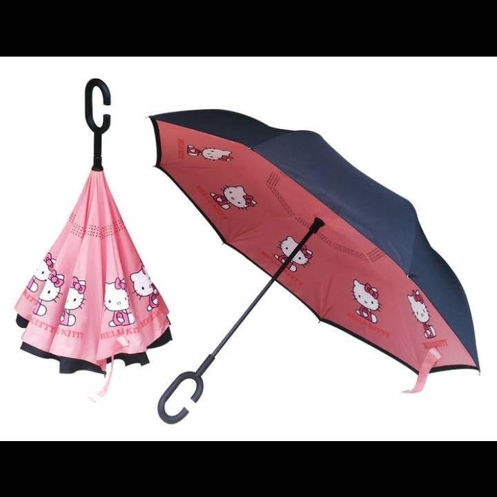 payung terbalik hello kitty0