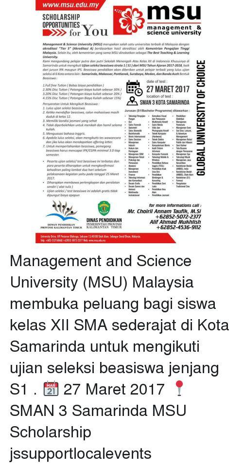 memes bachelor and malaysia www msu edu my mnsu scholarship