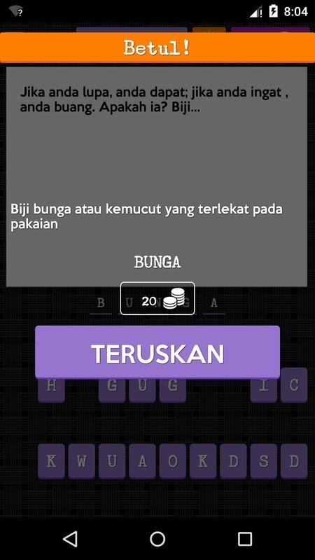 teka teki malaysia screenshot 2