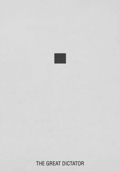 the great dictator minimal art world pinterest minimalist poster minimalist and movie