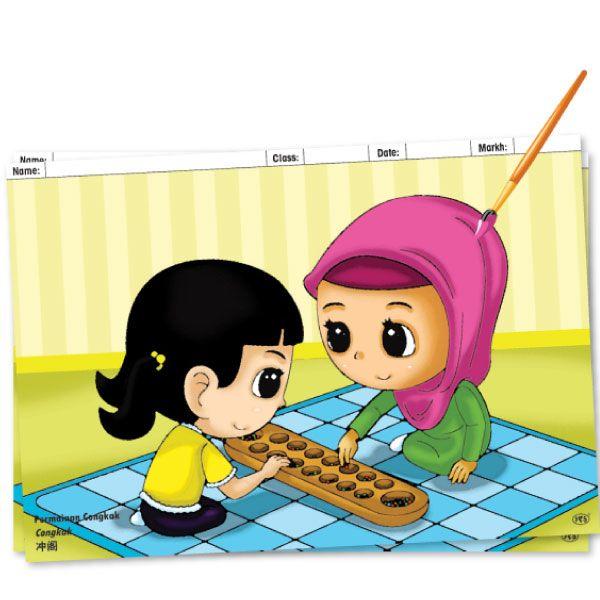 rampaian mewarna bergambar tarian dan permainan tradisional pascal marketing sdn bhd