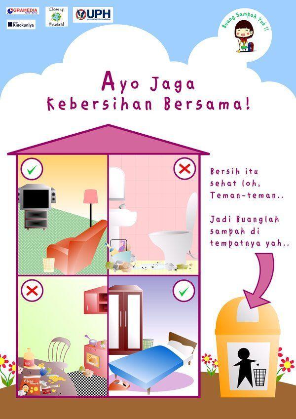 Dapatkan Gambar Poster Kebersihan Yang Awesome Dan Boleh Di Muat