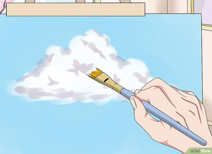 gambar berjudul paint clouds step 7