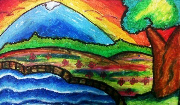 Download Cepat Lukisan Pemandangan Untuk Mewarna Yang Gempak Dan Boleh Di Lihat Dengan Mudah Cikgu Ayu
