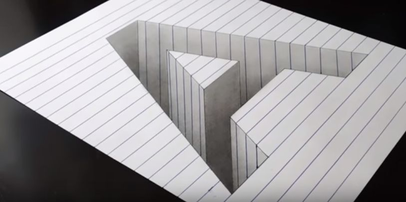 Download Cepat Lukisan Pensil 3d Di Kertas Yang Terhebat Dan Boleh Di Download Dengan Segera Cikgu Ayu