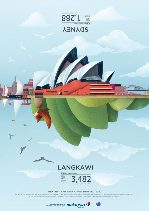 malaysia airline year end sale by jamietoh via behance