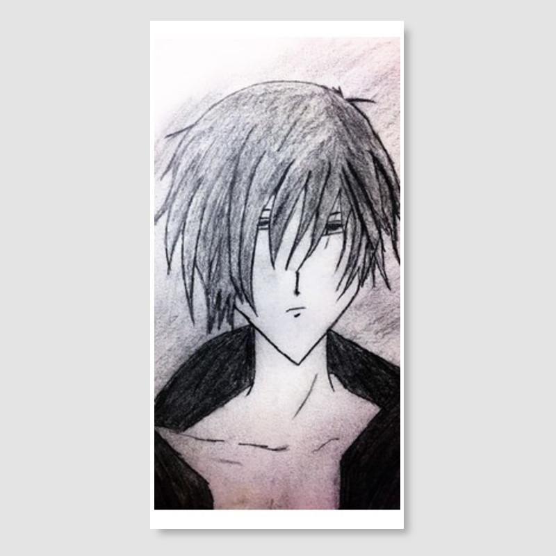 Naruto Poster Meletup Anime Boy Pencil Sketch Door Poster Artist Nandini Rawat
