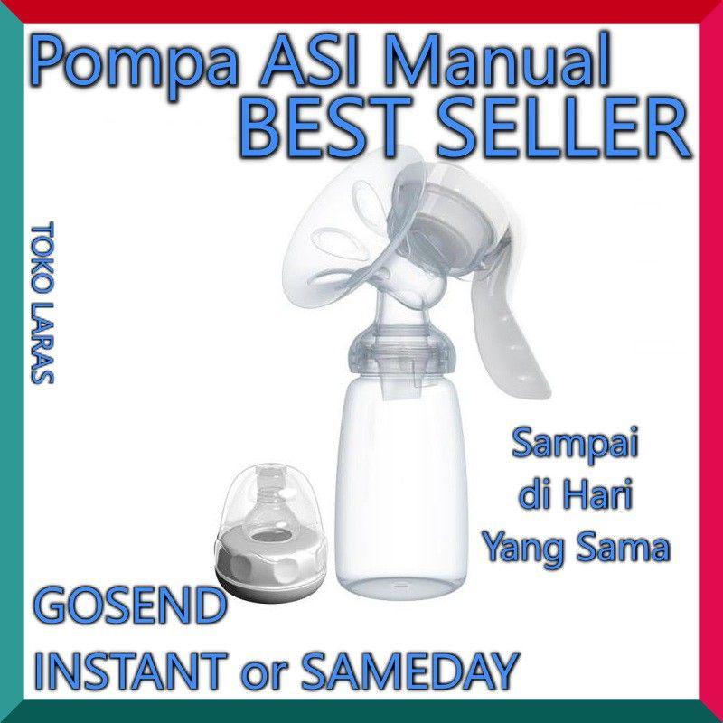 pompa asi manual iq baby breastpump susu asi bayi manual eksklusif pumping asi menyusui exclusive shopee indonesia