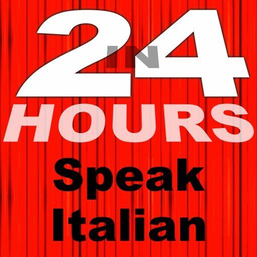 Poster Belajar Bernilai In 24 Hours Learn Italian App for iPhone Free Download In 24 Hours