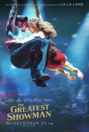 check out the latest posters of hugh jackman zac efron and more in the greatest showman