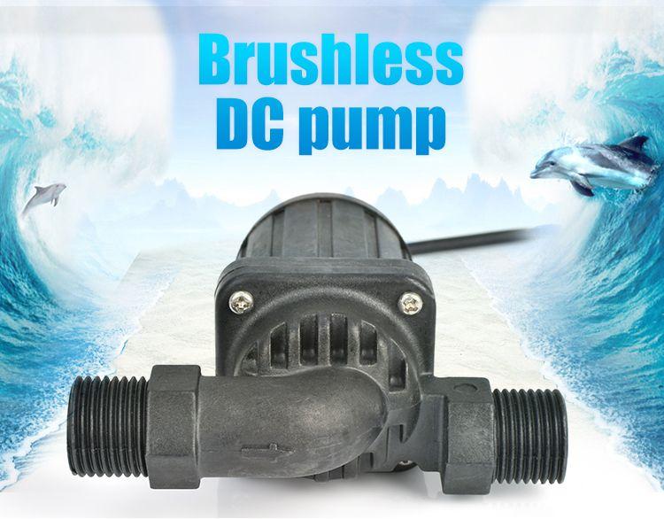 umur panjang hemat energi efisiensi tinggi mini circulationn surya air panas pompa dc brushless pompa booster