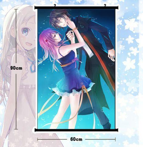 new anime guilty crown poster dinding geser mural home decor pasangan hadiah 80x60 cm