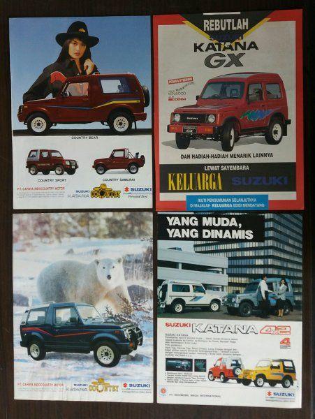 jual poster iklan mobil suzuki dari iklan majalah di lapak goedang koe goedang koe