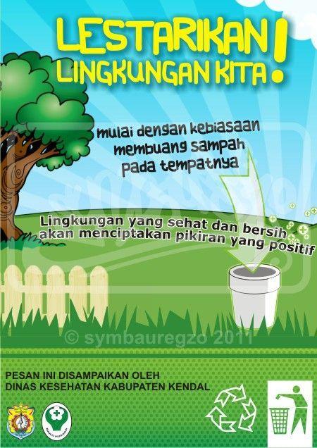 Link Download Poster Kebersihan Lingkungan Sekolah Yang