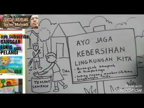 Link Download Poster Kebersihan Lingkungan Sekolah Yang Menarik