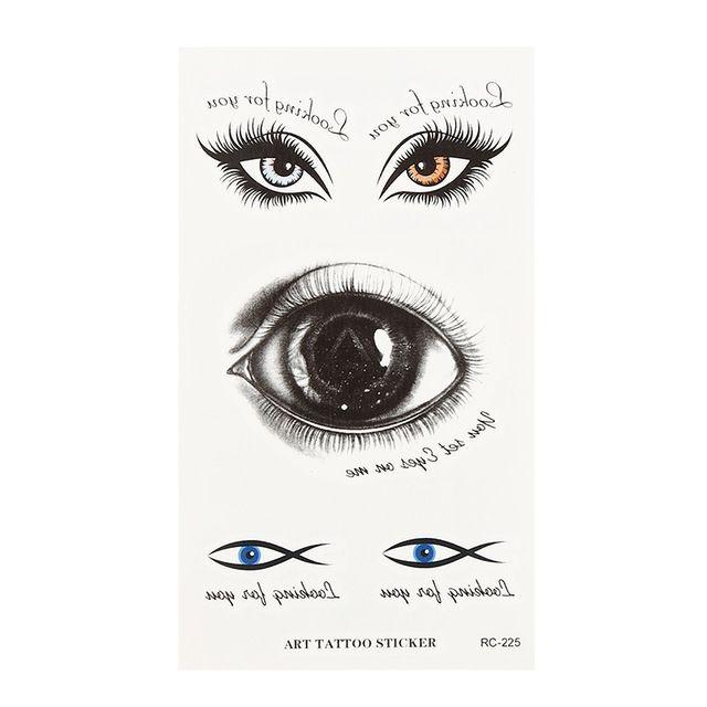 Poster Kebersihan Penting Us 0 27 20 Off Halloween Mata Besar Mata Yang Aneh Menakutkan Mata Stiker Tato Stiker Tahan Air Alat Peraga Trik Berdarah Menakutkan Mata Sementara