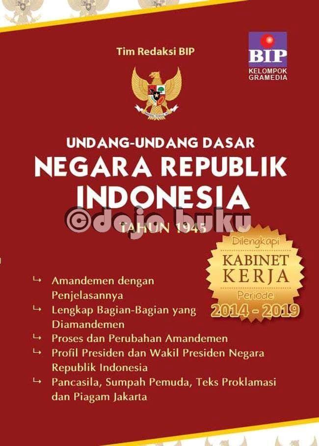 undang2 dasar negara republik indonesia 1945 oleh tim bip