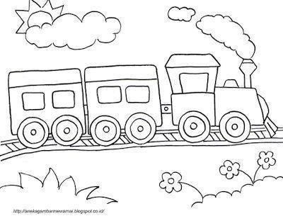 gambar mewarna ayam berguna aneka gambar mewarnai gambar mewarnai kereta api untuk anak paud