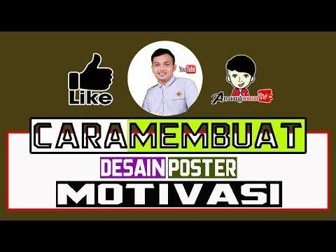 cara membuat desain poster motivasi dengan app canva