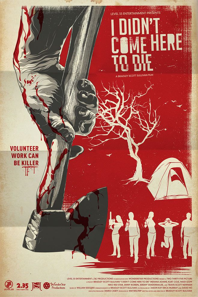 i didn t come here to die movie poster by anthony petrie