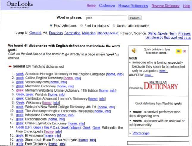 the best free dictionary dan thesaurus program dan situs web bagaimana caranya kiat komputer dan informasi berguna tentang teknologi modern