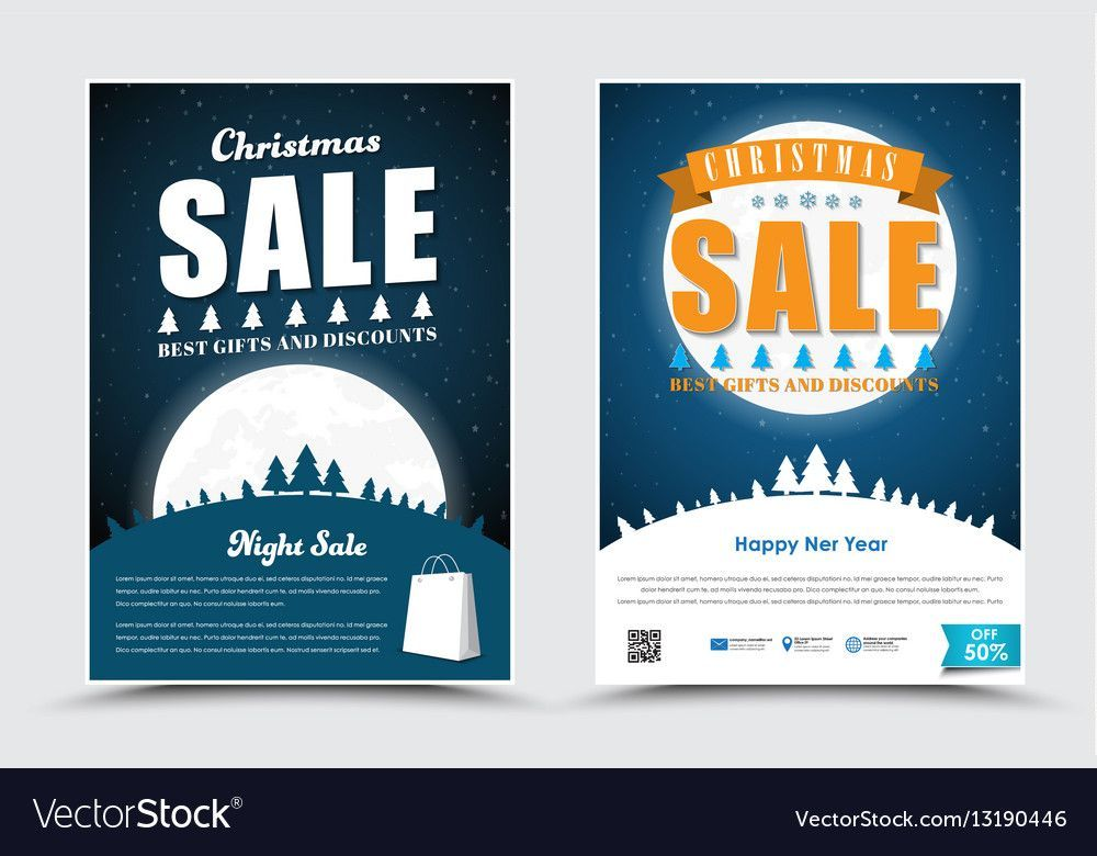 template posters flyers for the new year party vector 13190446 jpg