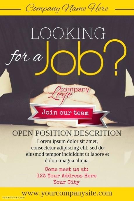 design templates for jobs hiring poster template job wanted ad jpg